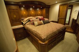 "Master Stateroom 2 300x200 - 71' Jim Smith ""Fish On"" Yacht"