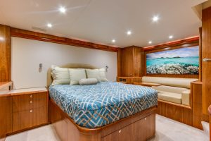 "Master Stateroom 300x200 - The 87' Weaver ""Mantra"""
